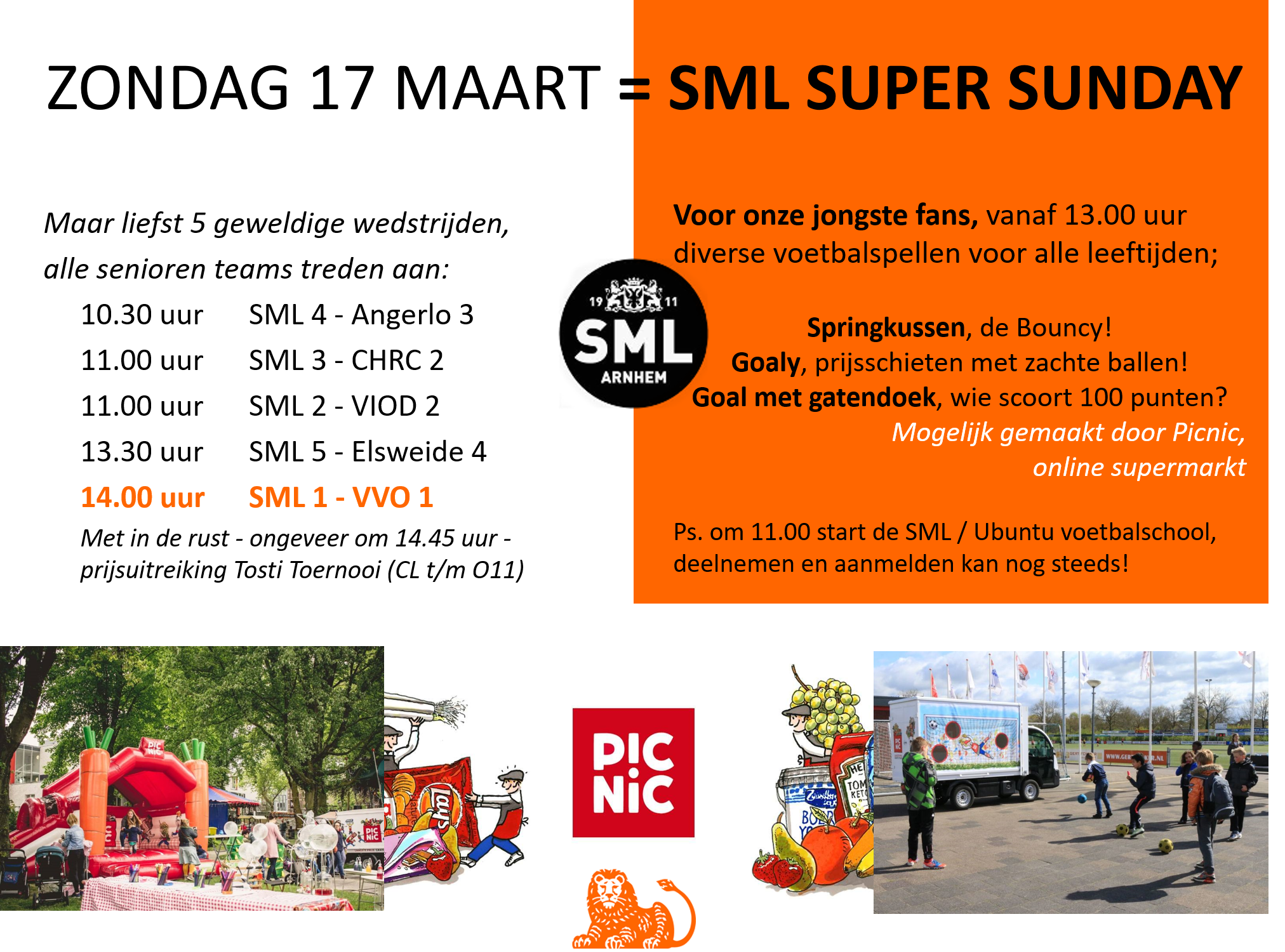 Supersunday 17 maart